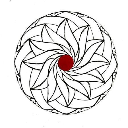 susanne annalinda fürlinger - handgemachtes design aus Österreich - Geburtsmandala Simon